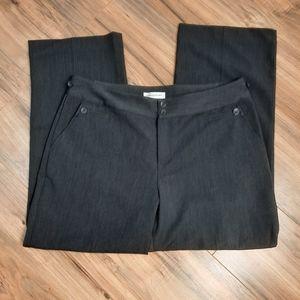 Christopher & Banks Sz 14 Short Gray Dress Pants